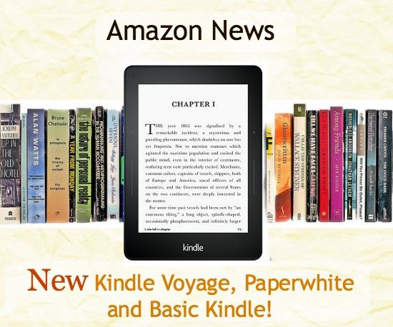 Kindle Vs Sony Reader: Amazon News: New Kindle Voyage, Paperwhite And Basic Kindle