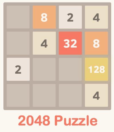 2048 Puzzle App