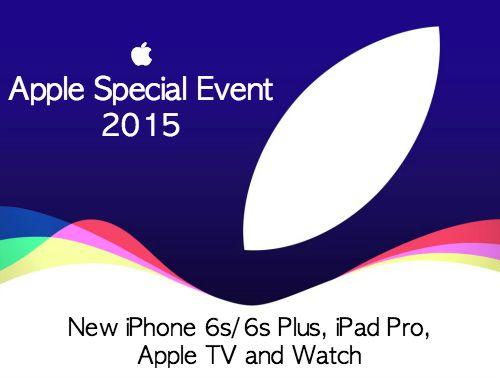Apple iPhone 6s Plus Watch TV iPad Pro