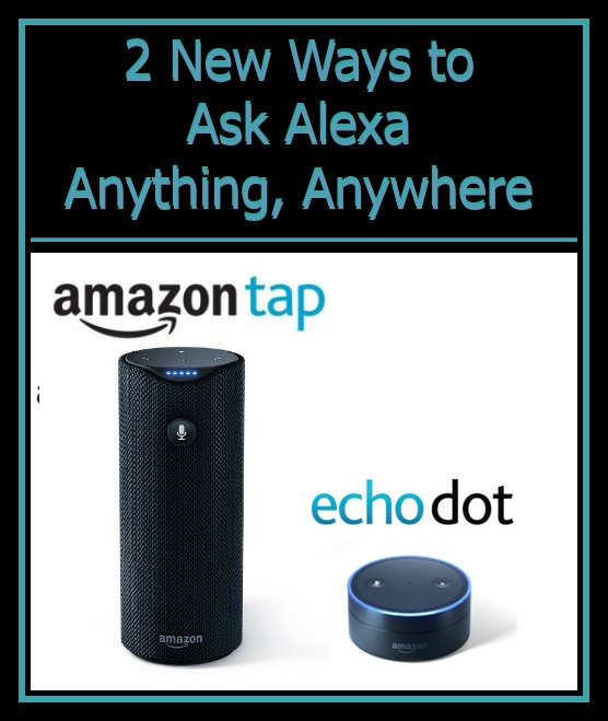 Echo Dot Amazon Tap