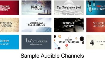 Audible Channels – A New Way to Discover Short Listens