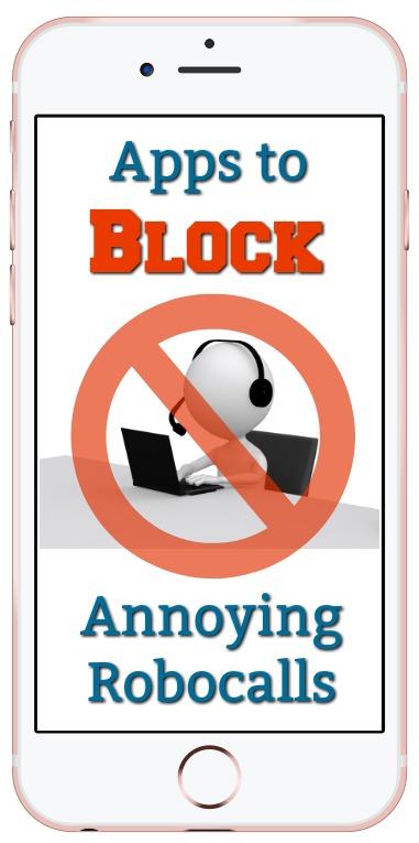Apps to block Robocalls