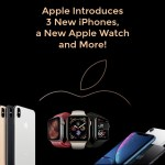 Apple Introduces 3 New iPhones, a New Apple Watch and More!