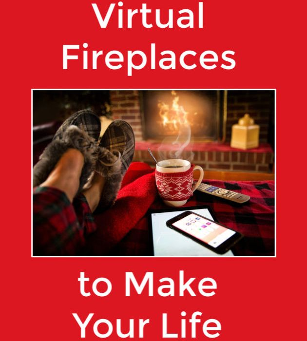 Best Virtual Fireplaces Cozy