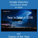 Find Out Top Google Searches in 2018 and Play Game of the Year