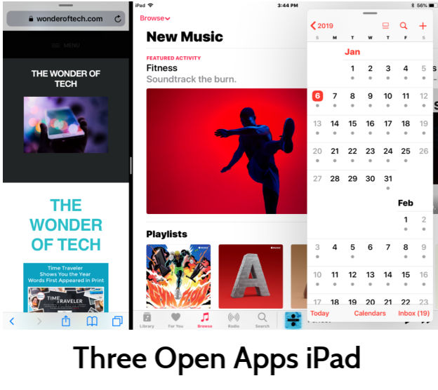iPad Apps Split View and Slide Over