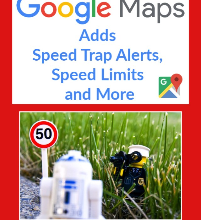 Google Maps Update Speedtraps