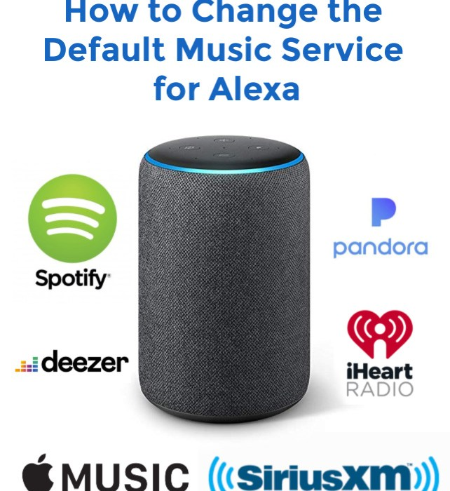 How to Change the Default Music Service for Alexa
