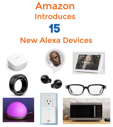 Amazon New Echo Devices