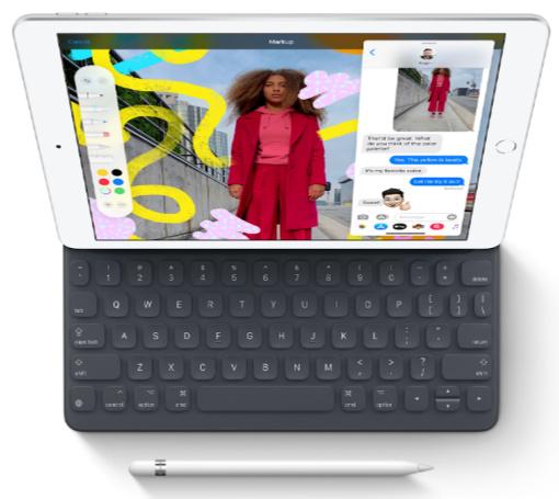 Apple Pencil and Keyboard with 2019 iPad