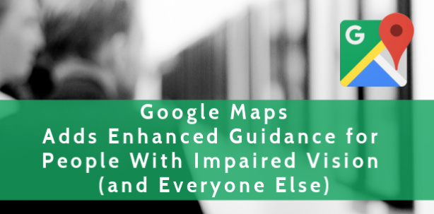 Google Maps Detailed Voice Guidance