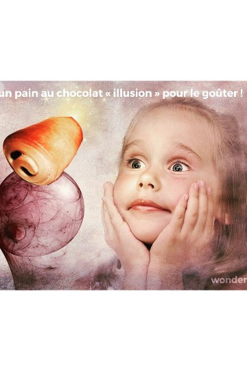 Pain au chocolat illusion