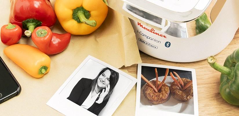 Retrouvez la recette de mes Donutsilles aux carottes dans l'Edito de MOULINEX