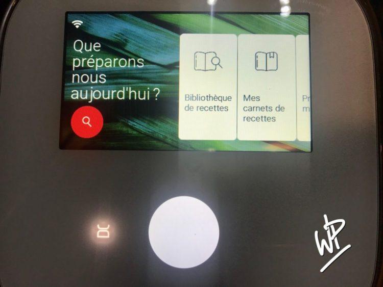 Le premier visuel de l'écran du I-COMPANION TOUCH XL
