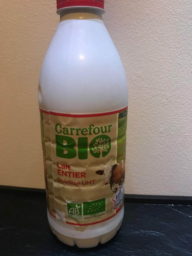 Le lait entier pour la Multidélices Express