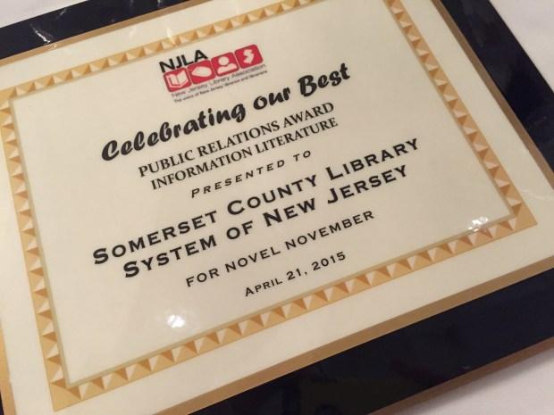 2015 NJLA Award-Winning PR and Marketing Campaign: Information Literature