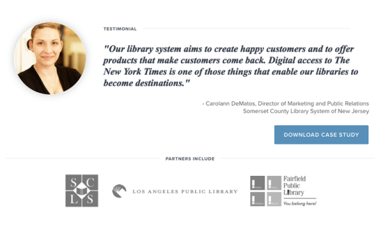 Creating a Partnership with The New York Times for Libraries [Fall/Winter 2016]