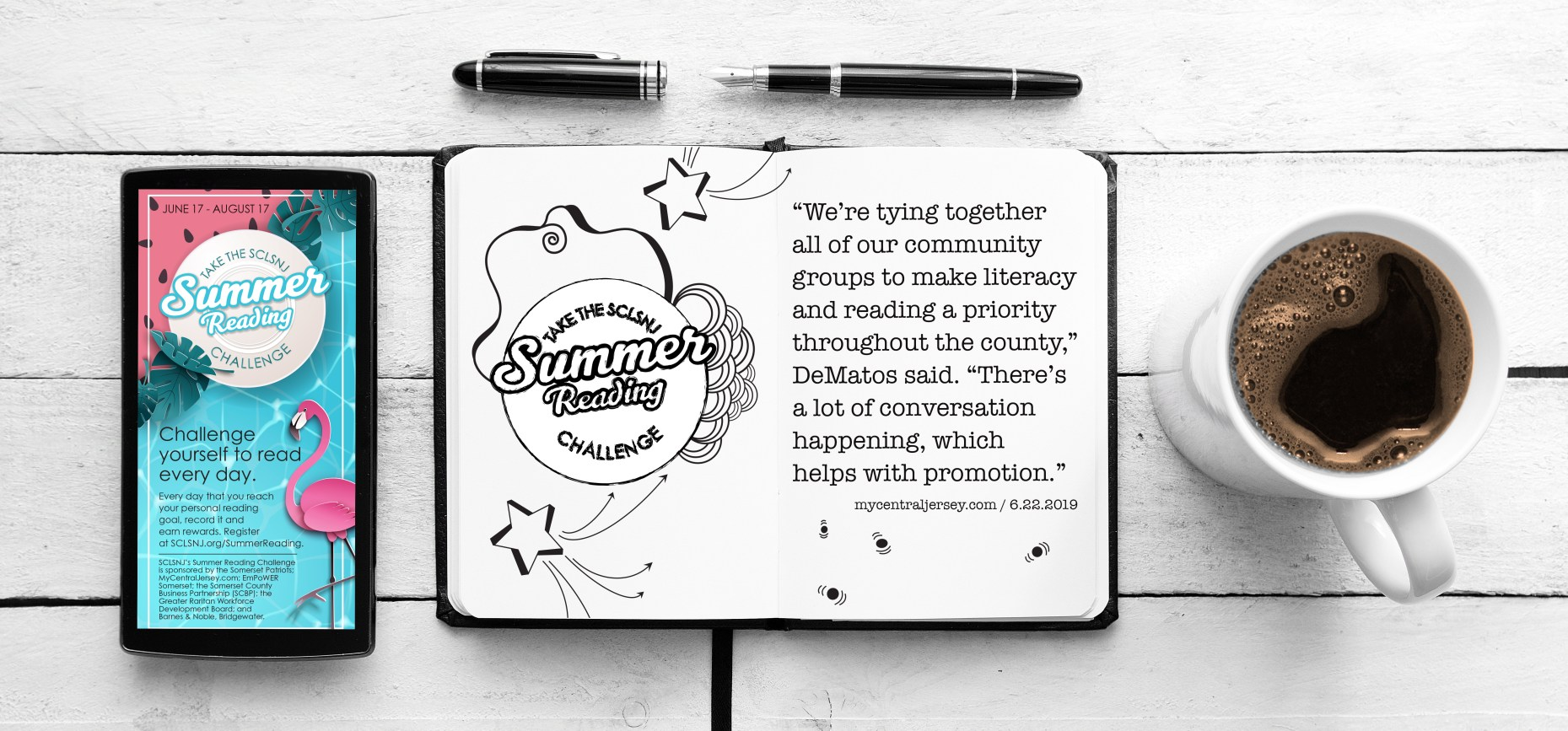 Streaming Now ... Summer Reading [Summer Reading Challenge at SCLSNJ / 2019]