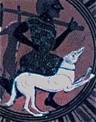 Image result for Ancient Greek hunting dogs vase