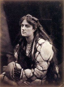 Julia Margaret Cameron's Hypatia