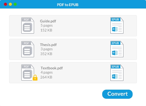 Wondershare PDF to EPUB Converter mac