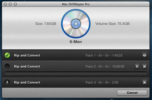 Mac DVDRipper Pro mac