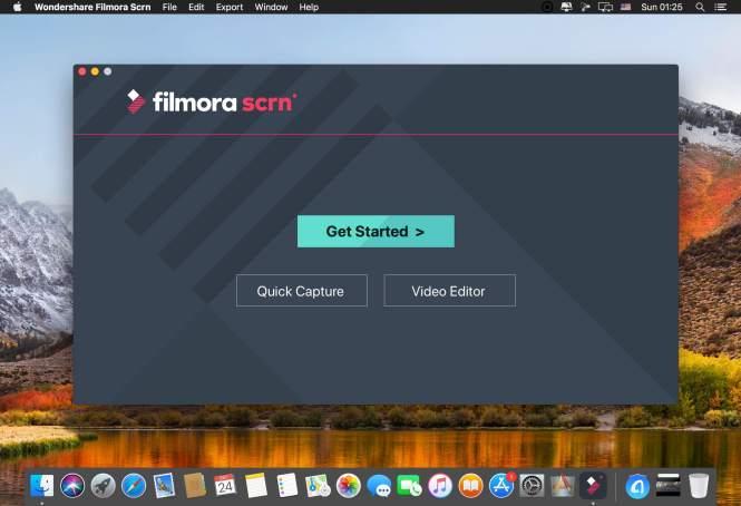 Wondershare Filmora Scrn mac