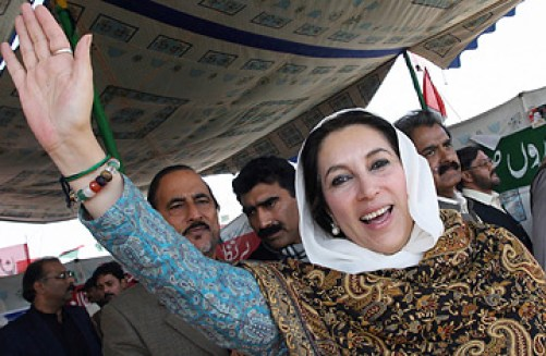 Benazir Bhutto. Pakistan