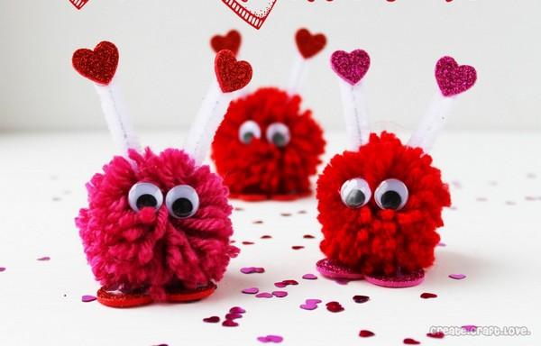 Valentine with friends