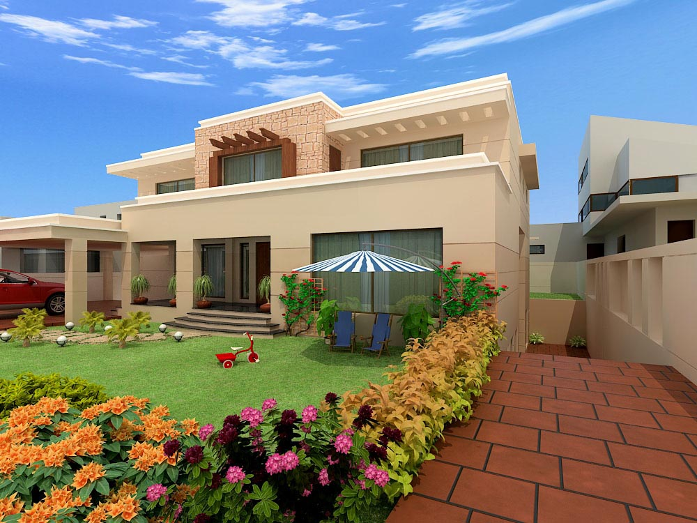 Home exterior designs top 10 modern trends - Beautiful front designs of homes ...