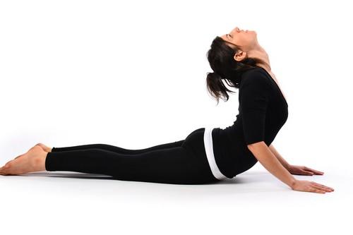 Basic Yoga Cobra pose
