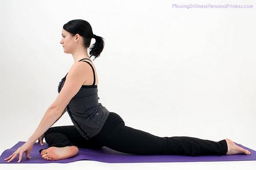 Basic Yoga Pigeon Pose