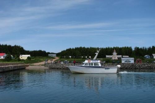 Pictou Islands in Canada