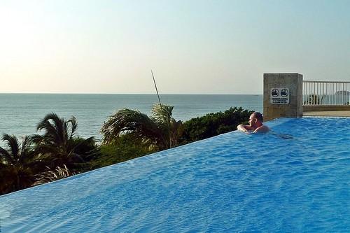 Stunning Infinity Pool at Golden Triangle Resort – Chiang Rai, Thailand.