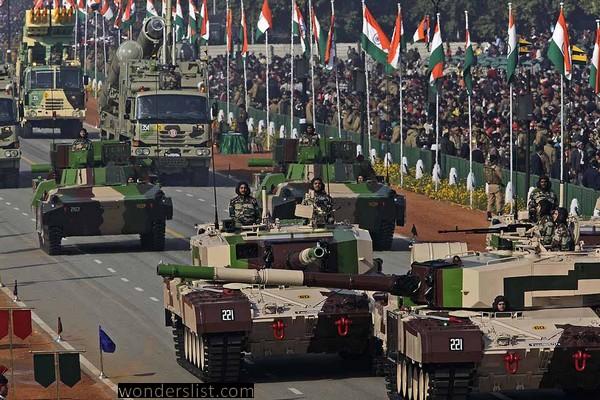 Republic Day Parade of India at New Delhi