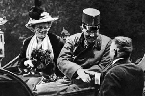 Archduke Franz with Wife Historical Images