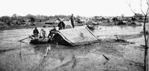 Dam failure in Banqiao China in 1975