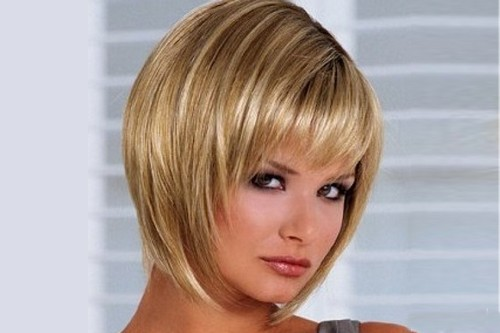 Beautiful Short Inverted Bob Hairstyles with Bangs