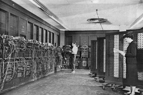 Historical Images first computer