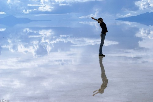 Reflective Salt Flats in Bolivi Amazing Things In Nature