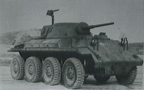 T27 Armored Car