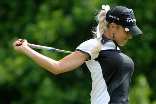 Natalie Gulbis Attractive Women Golfers