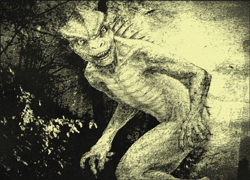 Lizard Man of Scape