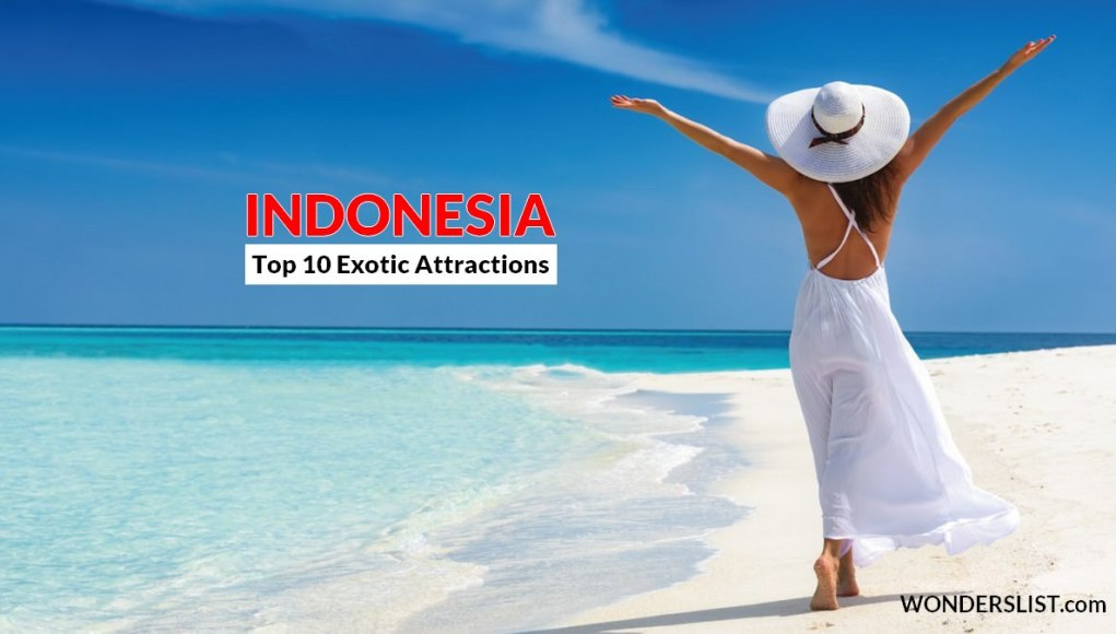 exotic attractions in Indonesia