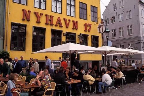 Eating at Danish restaurants