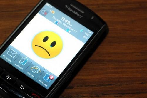 Data Backlog of blackberry
