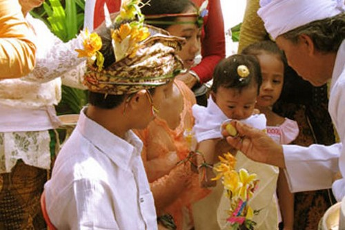 Balinese Babies Can't Touch The Ground