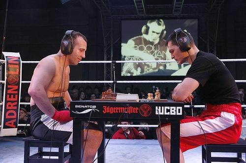 Chess Boxing - Bizarre Sports London