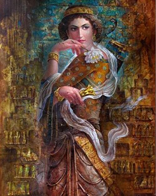 Purandokht Persian Queens