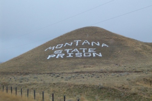 Montana State violent prison riots